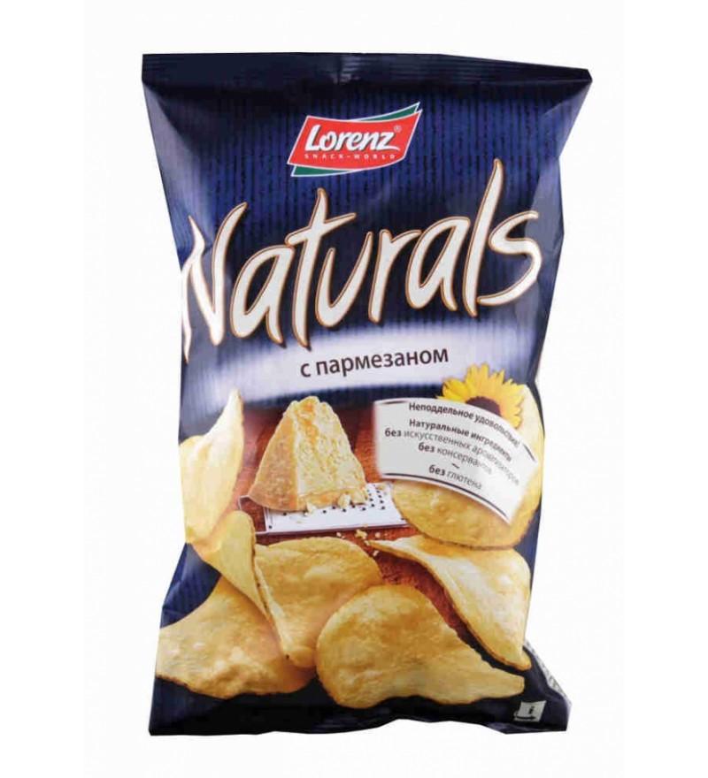 """Чипсы картофельные """"Naturals"""" с пармезаном"""