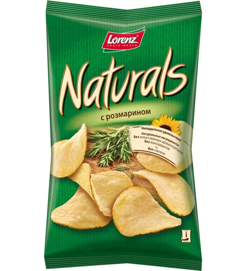 """Чипсы картофельные """"Naturals"""" с розмарином"""