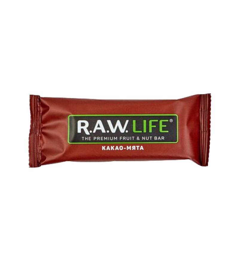 "Батончик RAW LIFE ""Какао-Мята"""
