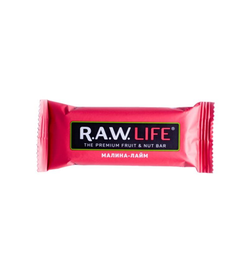 "Батончик RAW LIFE ""Малина-Лайм"""