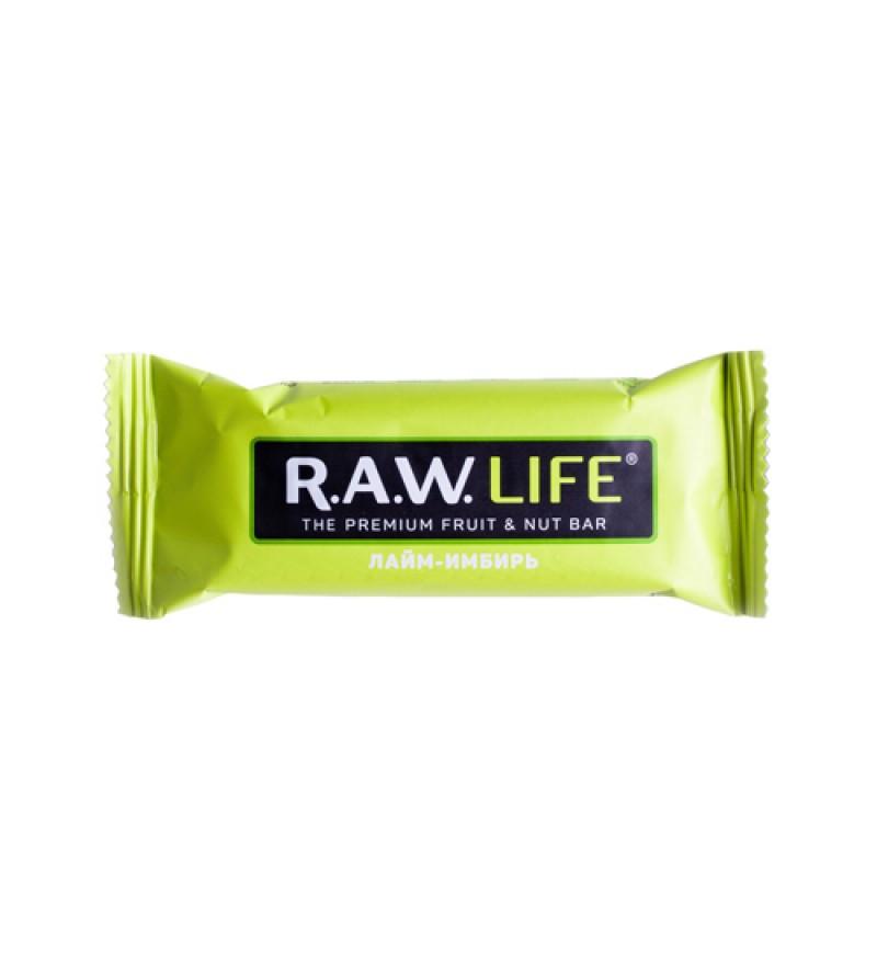 """Батончик RAW LIFE """"Лайм-Имбирь"""""""