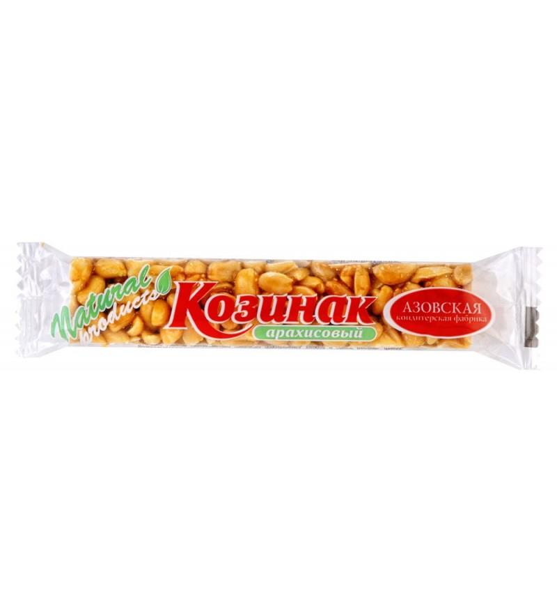 Батончик козинак «Азовская кондитерская фабрика» из арахиса