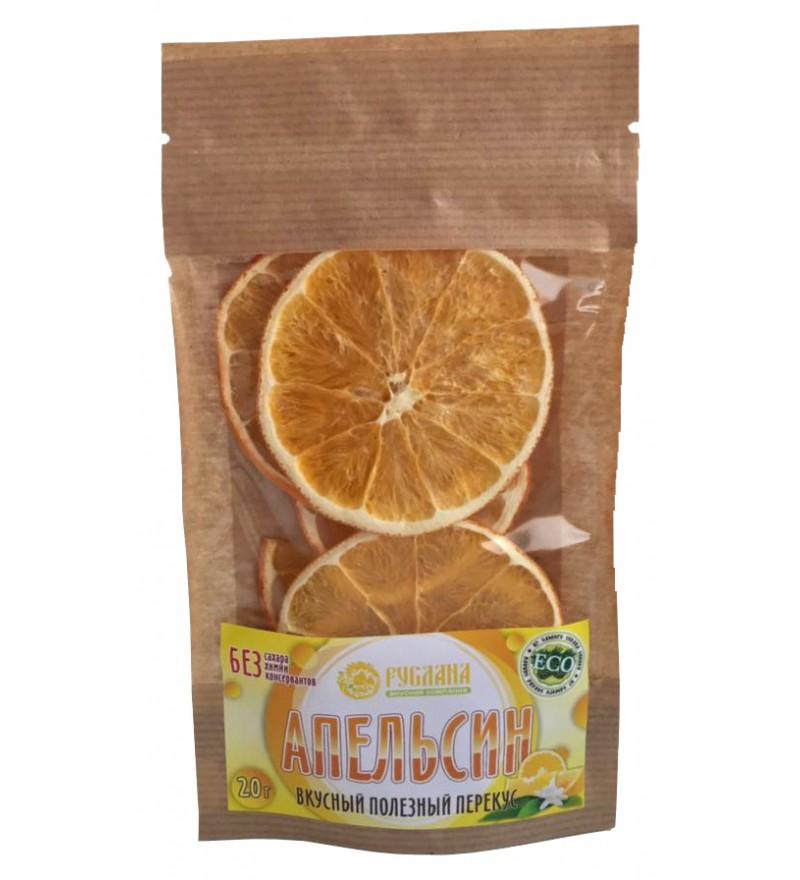 """Апельсиновые чипсы """"Живые"""""""