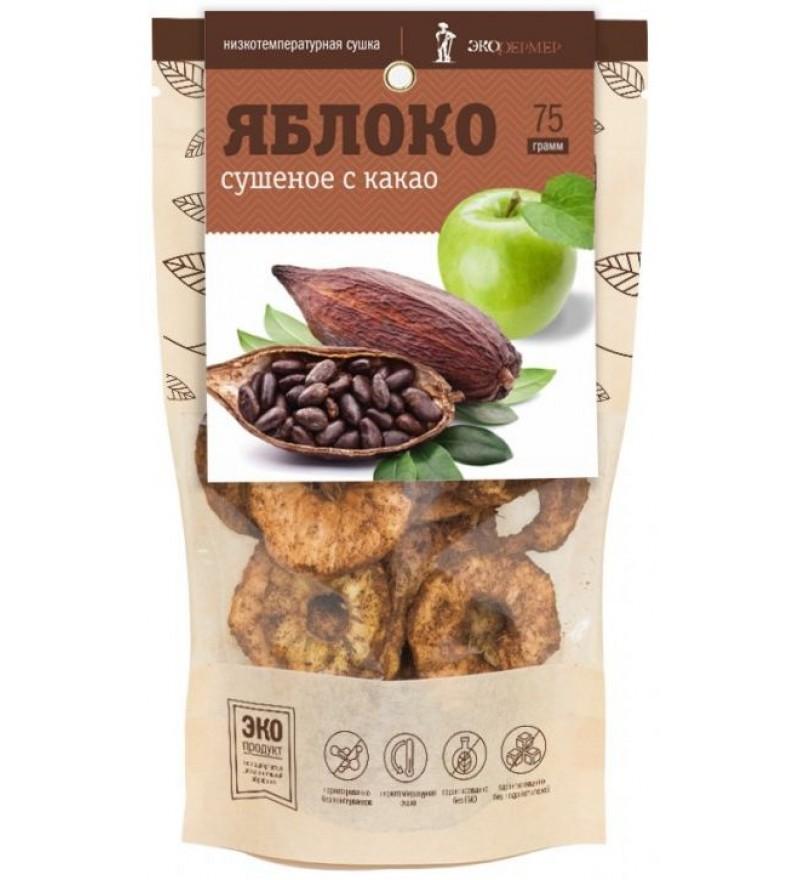 """Яблоко сушеное с какао """"Экофермер"""""""