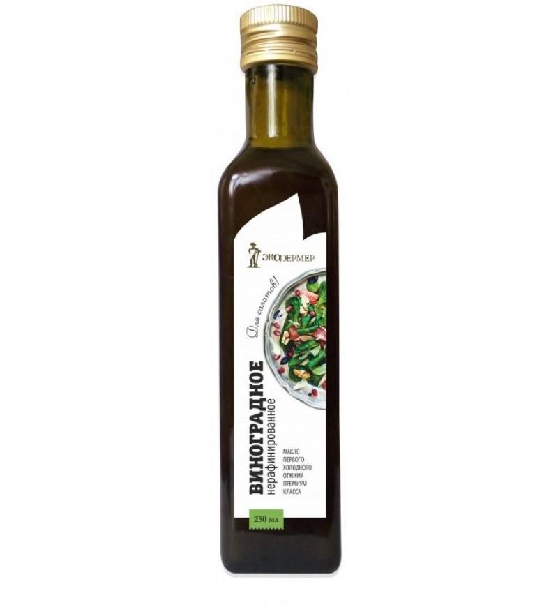 """Unrefined grape oil """"Eсofarmer"""""""