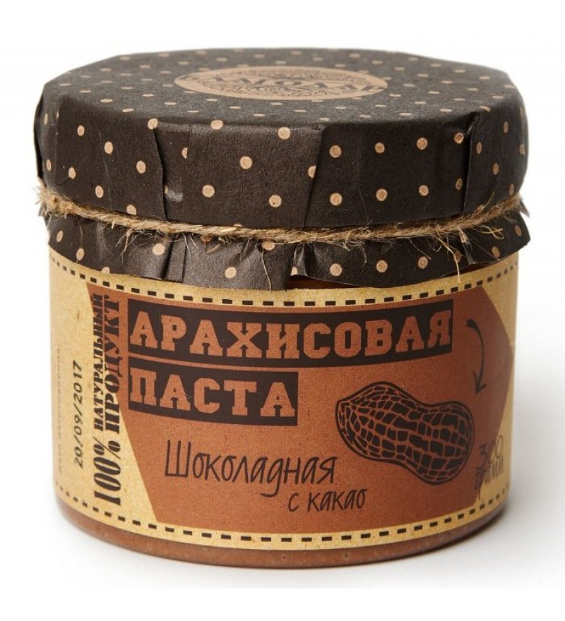 "Peanut butter paste ""Chocolate"", Blagodar"