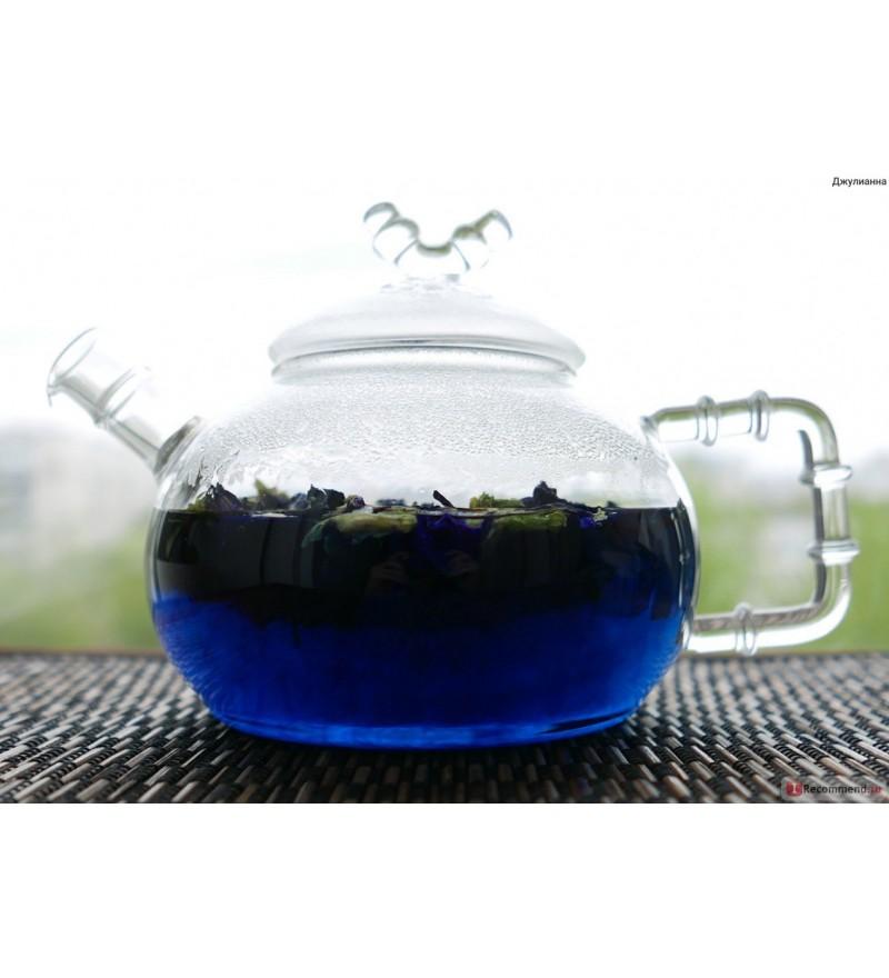 Синий чай