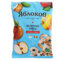 """Apple chips """"Yablokov"""" from sweet apples"""