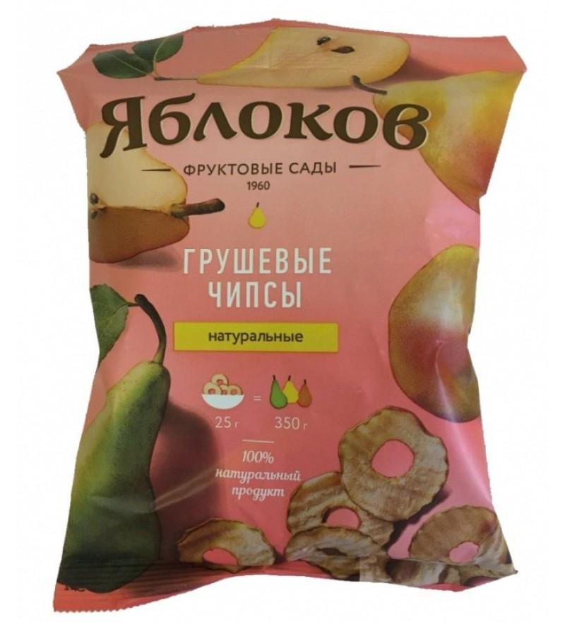"""Грушевые чипсы """"Яблоков"""""""