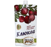 Cranberries wiped with sugar Siberian berry