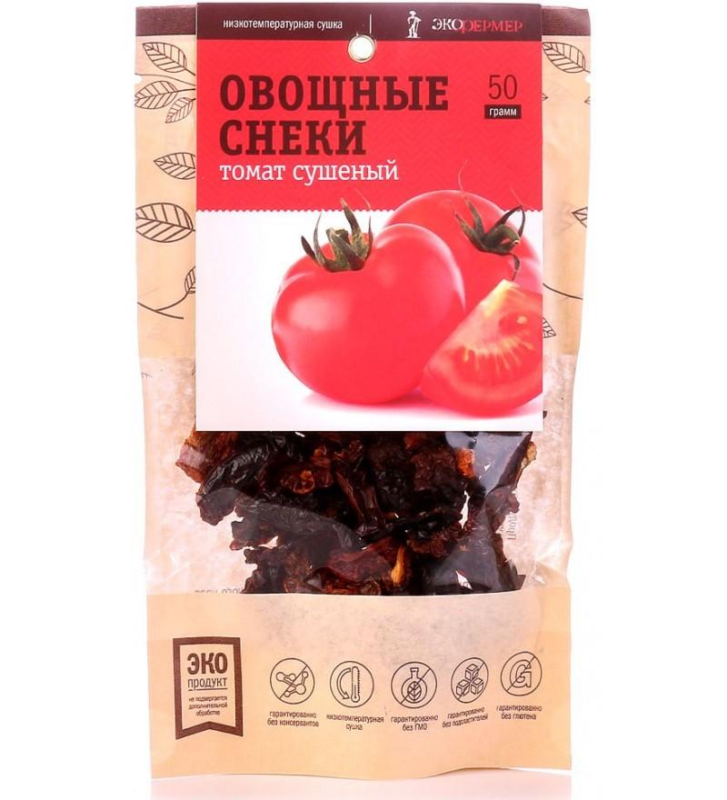 """Овощные снеки """"Экофермер"""" томат сушеный"""
