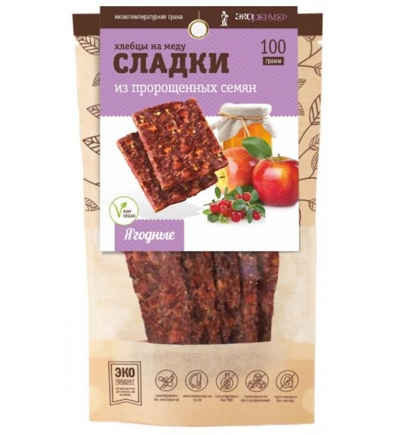 """Хлебцы на меду """"Ягодные"""" СЛАДКИ"""