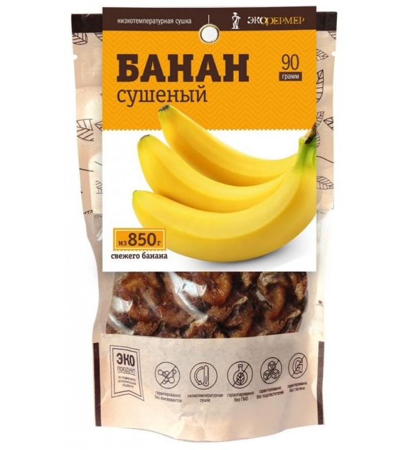 """Банан сушеный """"Экофермер"""""""
