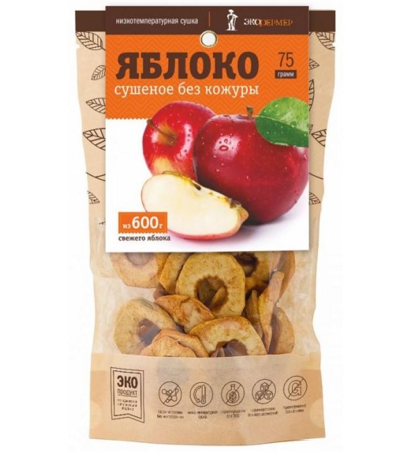"""Яблоко сушеное без кожуры """"Экофермер"""""""
