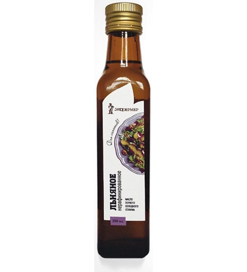 """Льняное масло нерафинированное """"Экофермер"""""""
