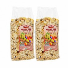 Porridge, muesli, cereals